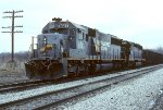 CSX SD50 8517